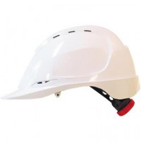 M-SAFE ABS HELM MH6020 DRAAIKNOP WIT